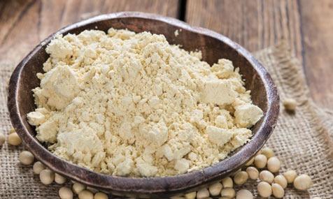 Polvo de proteína de guisante orgánico